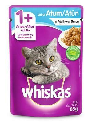 Wishkas alimento húmedo / 1 año y mas - Atún 85g