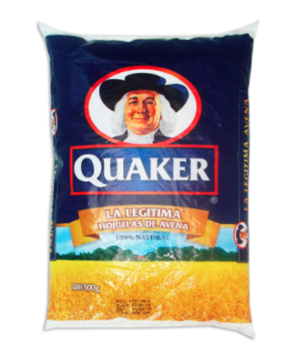 Avena Quaker / Funda 500 g
