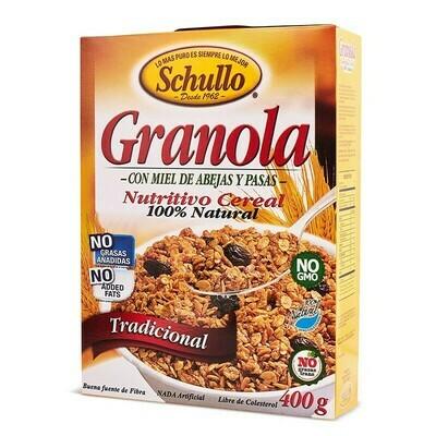 Granola Schullo Tradicional / Caja 400g