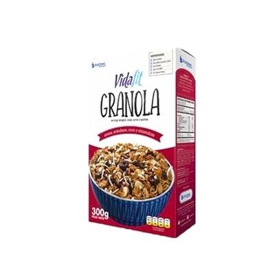 Granola VIDA FIT / arándanos, coco, avena y almendras 300g