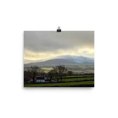 Irish Landscape Print - Photo paper poster
