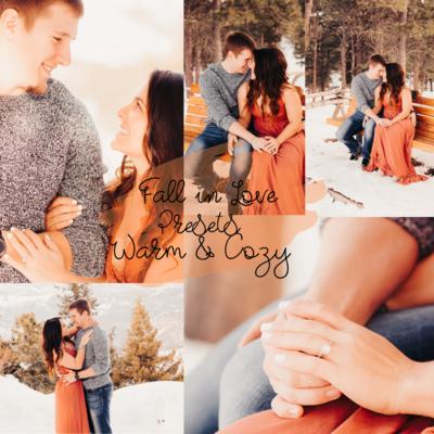 Fall in Love Warm & Cozy Presets