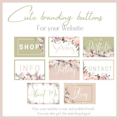 Cute Branding buttons