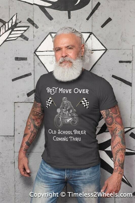Old School Biker T-Shirt