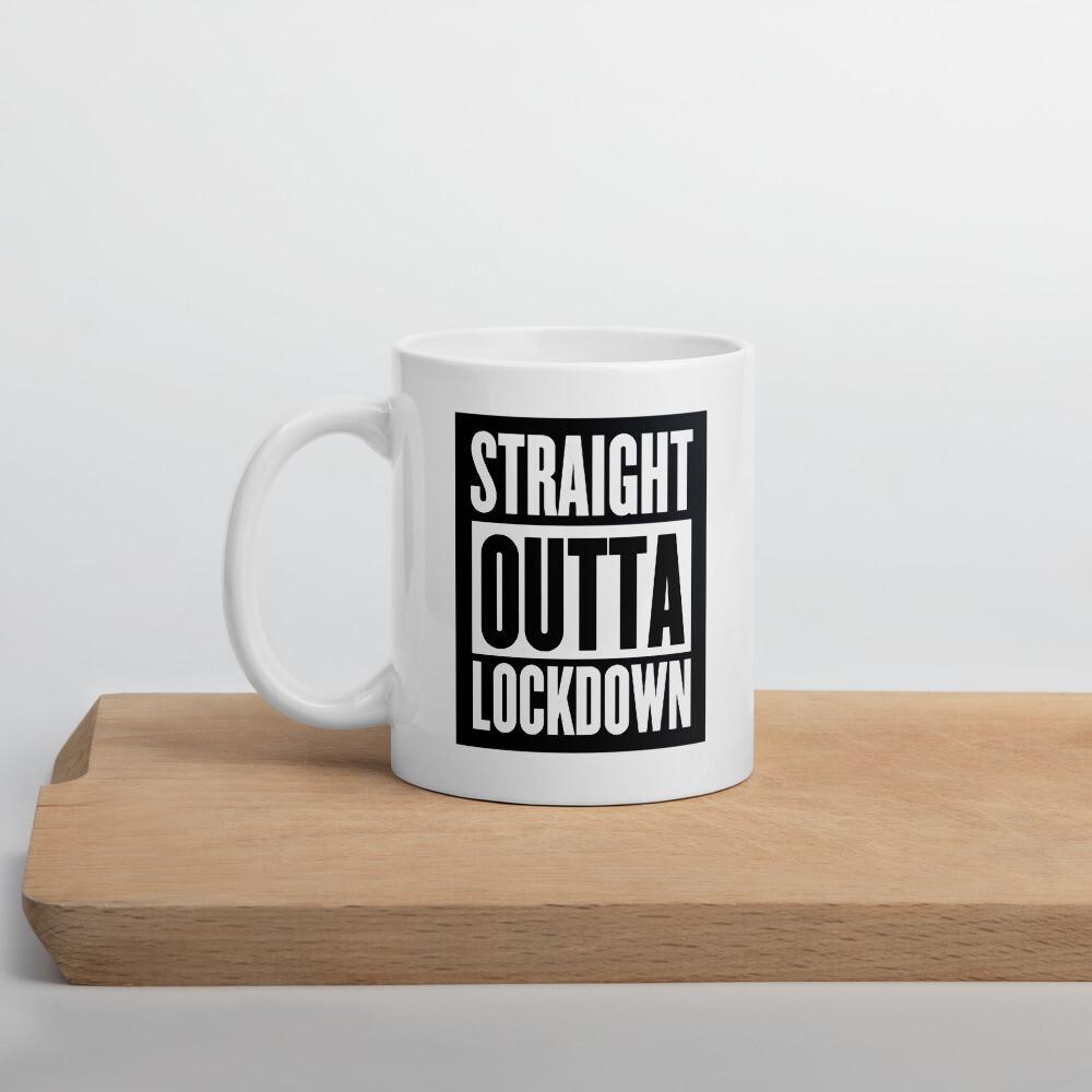 Straight Outta Lockdown Coffee Mug