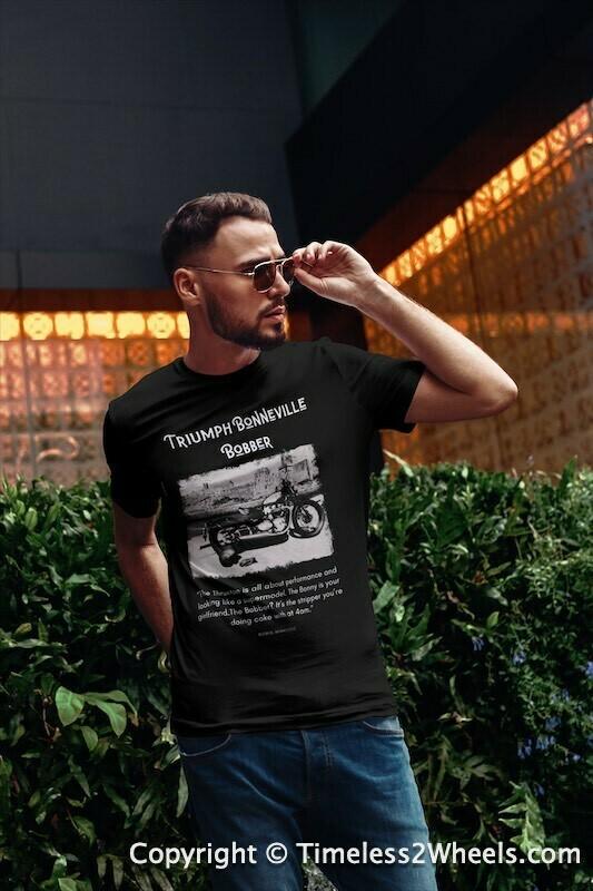 Triumph Bobber Stencil T-Shirt
