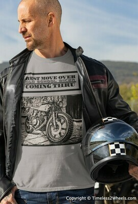 Old School Biker Cafe Racer T-Shirt