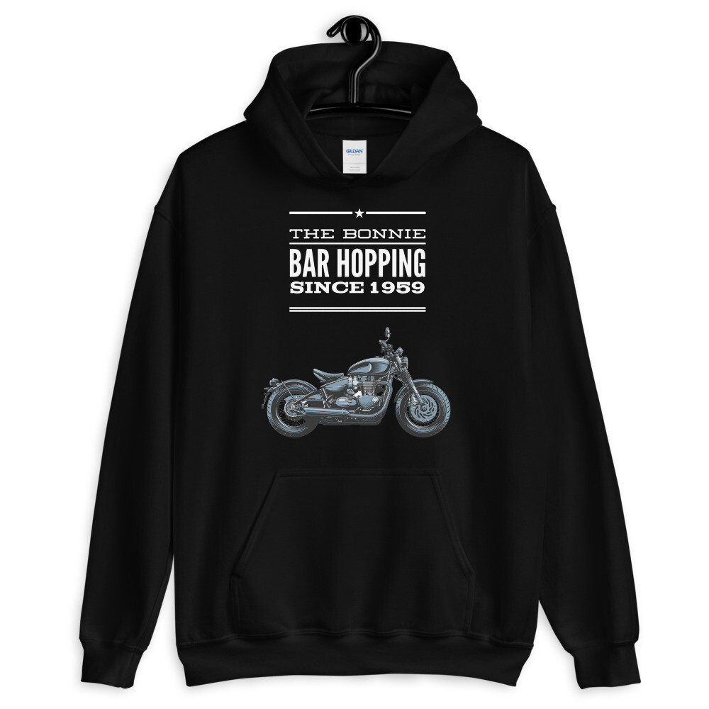 Triumph Bobber Bar Hopper Hoodie