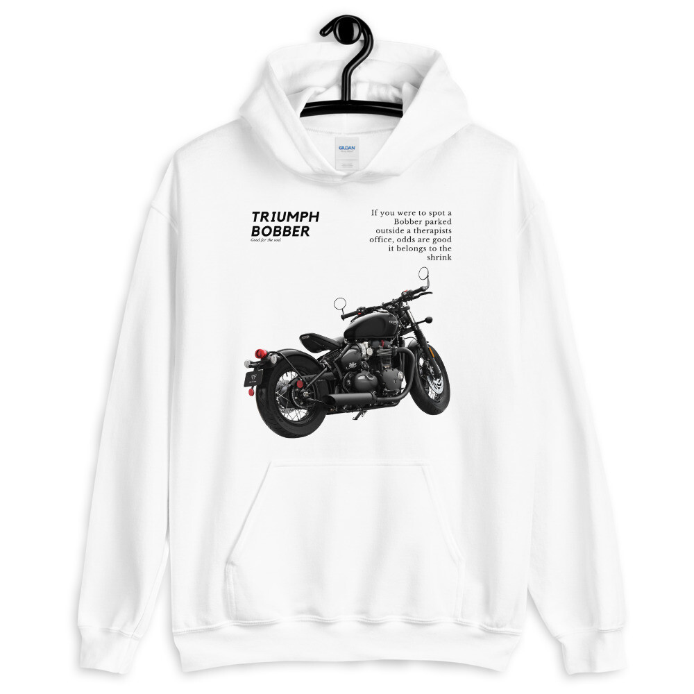 Triumph Bobber Good For The Soul Hoodie