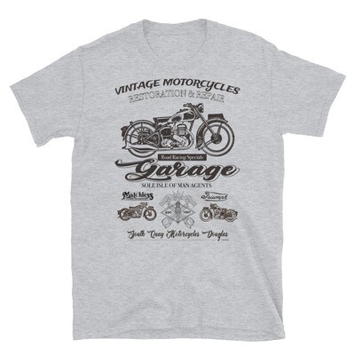 Vintage Manx Motorcycle Repair T-Shirt