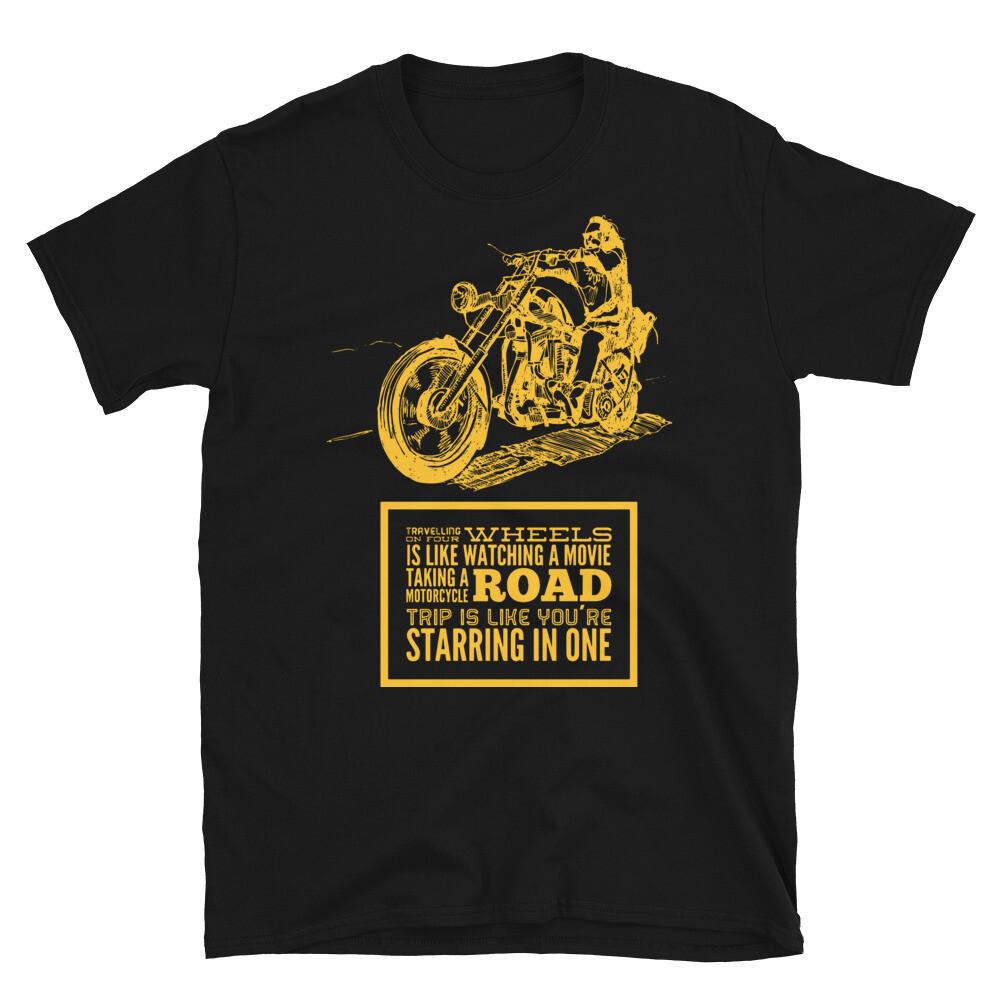 Dark and Gold Easy Rider T-Shirt