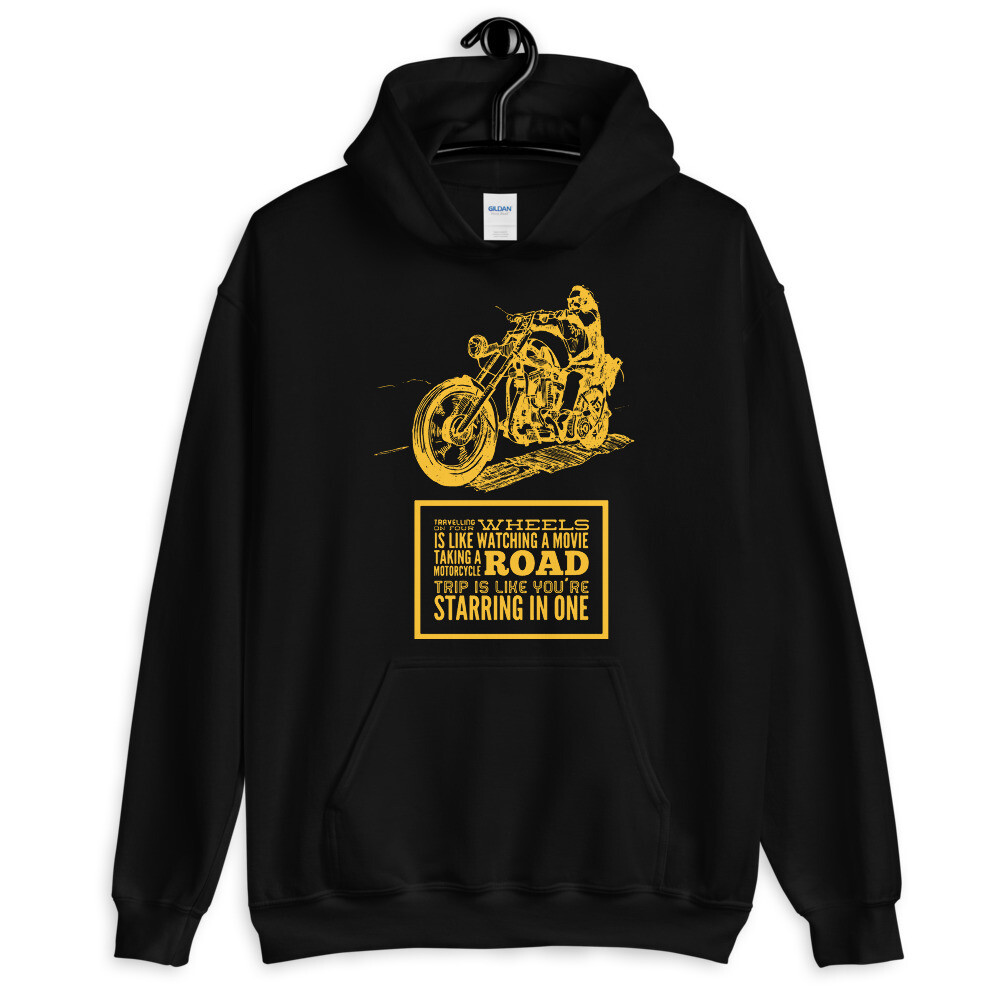 Gold and Black Easy Rider Hoodie