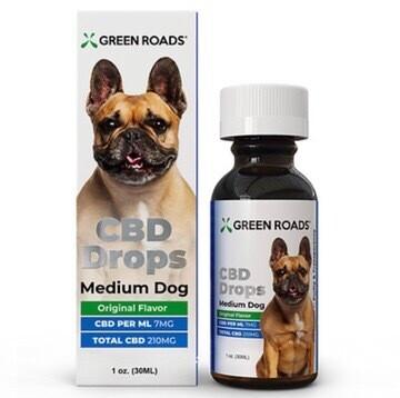 Medium Dog CBD Oil Drops 210MG