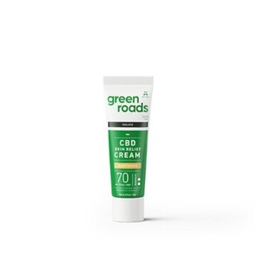 Travel Size CBD Skin Relief Cream 70MG
