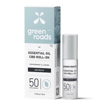 Essential Oil CBD Roll On 50MG - Refresh