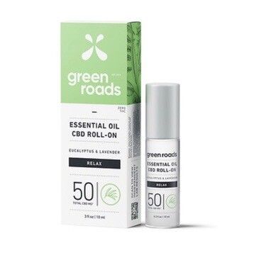 Essential Oil CBD Roll On 50MG - Relax