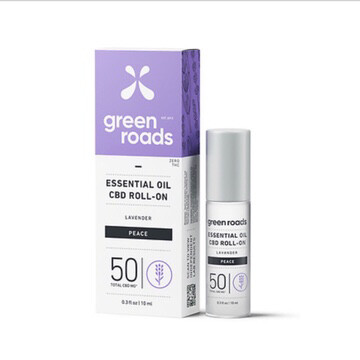 Essential Oil CBD Roll On 50MG - Peace