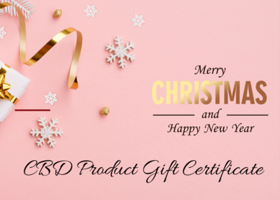 CBD Product Gift Certificate