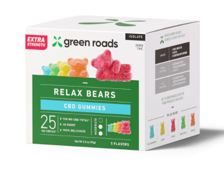 EXTRA Strength Relax Bears