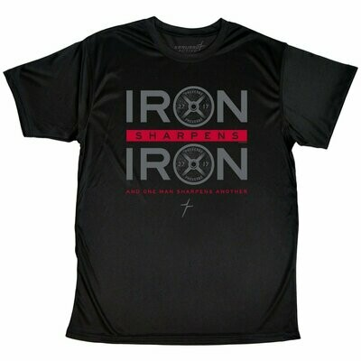 Iron Sharpens Iron Adult T-Shirt - FREE Shipping