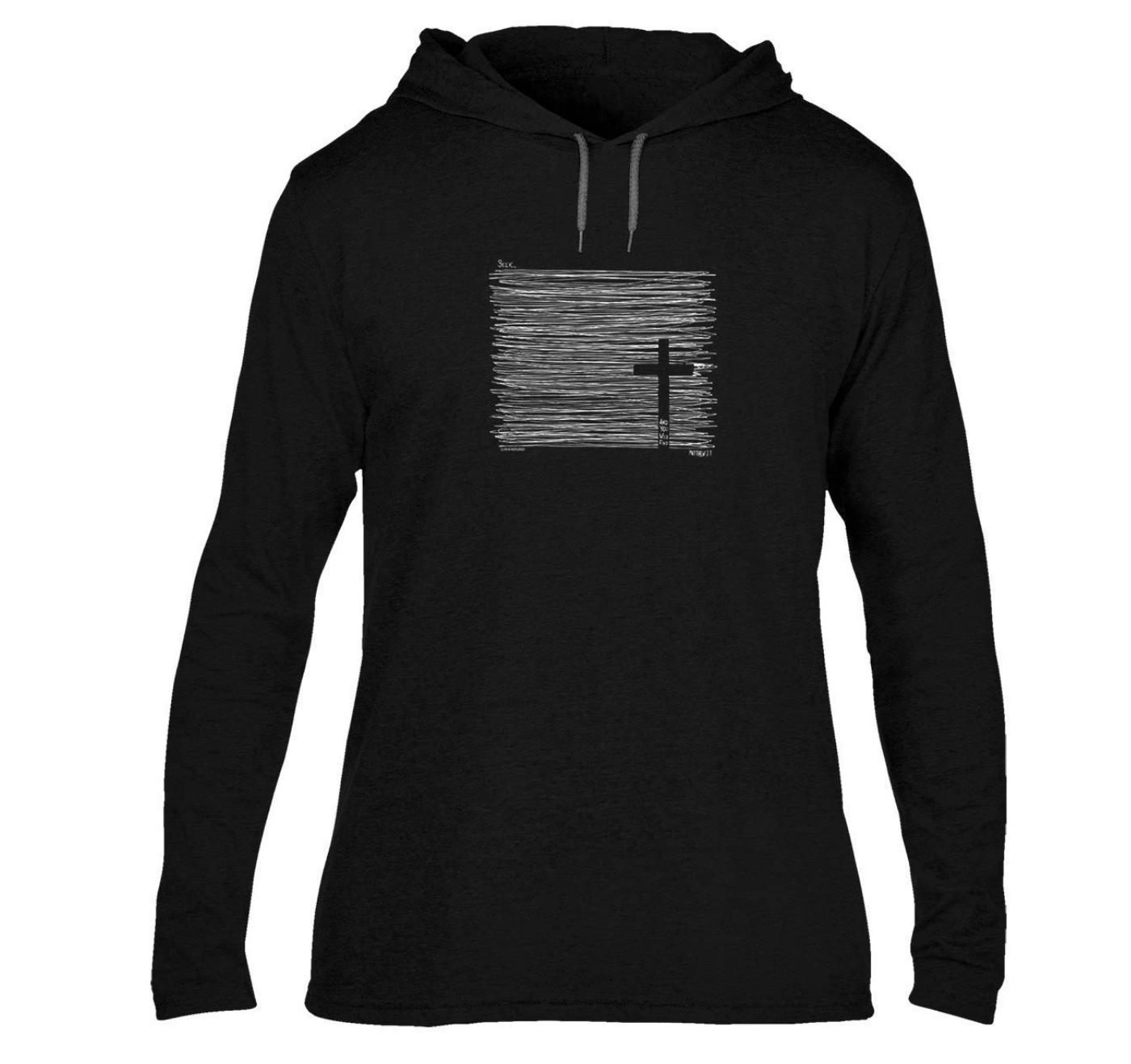 Seek Adult Hooded T-Shirt - FREE Shipping