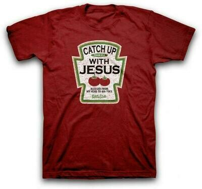 Catch Up Adult T-Shirt - FREE Shipping