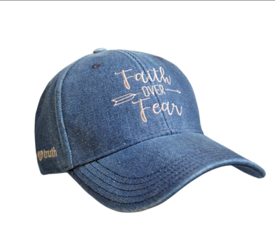 Faith Over Fear Hat - FREE SHIPPING