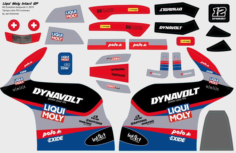 Decal-Set | Liqui Moly Intact GP