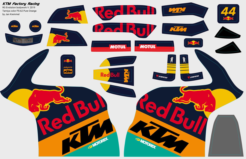 Decal-Set | KTM Factory Racing