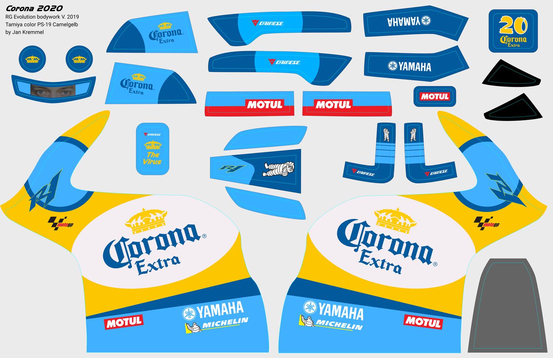 Decal-Set | Corona 2020