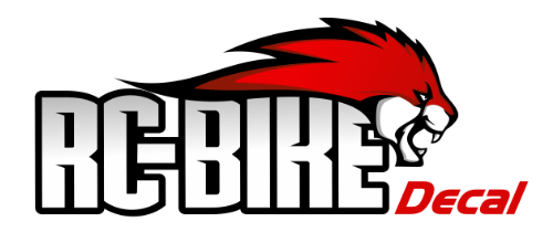 RC-Bike Decal
