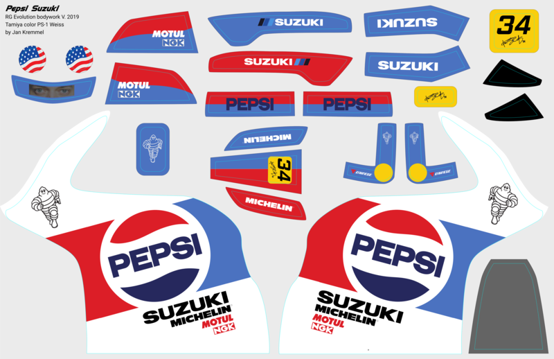 Decal-Set | Pepsi Suzuki