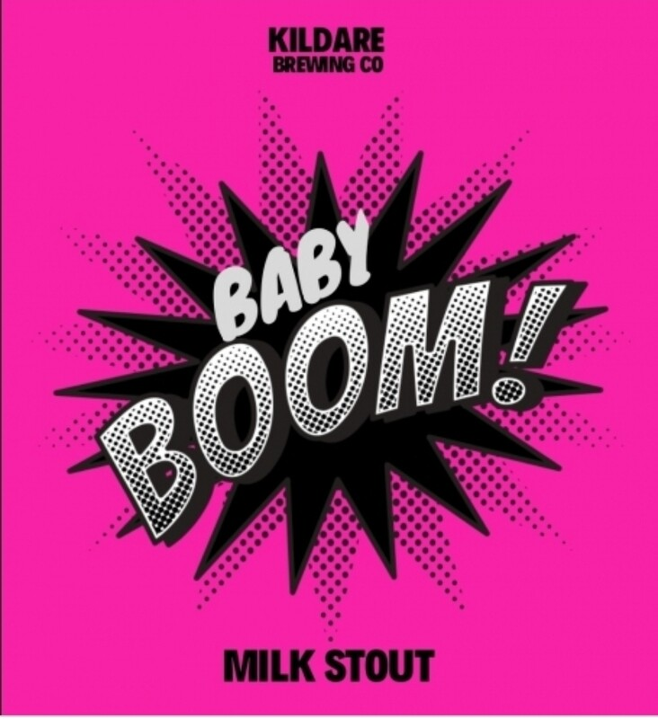 Baby Boom Milk Stout 4.8% 12 Pack