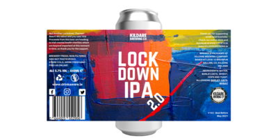 Lockdown IPA 2.0 5.7% 12 Pack