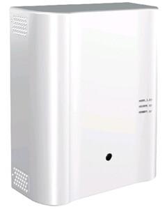 PURIFOG MODULAR PUMP 200: Nebbiogeno igienizzante fino a 200 m3 (visibilità raccomandata), una sacca inclusa da 500 ml, sparo programmabile in secondi, installazione verticale/orizzontale, 2 In ed 1 O