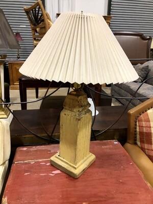 Rustic Wooden Lamp