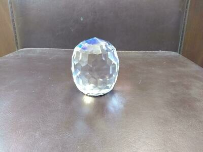 Crystal Sphere With Blue Base