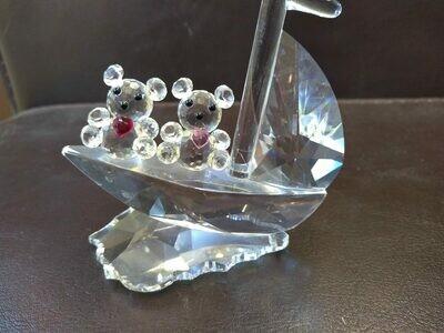 Crystal Sail Boat