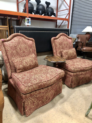 Oversized Paisley Accent Chair