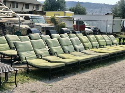 Summer Classics Outdoor Patio Monaco Aluminum Chaise Lounge