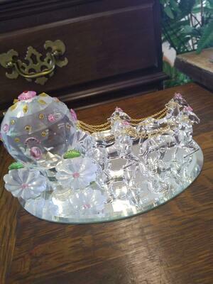 Crystal World Large Cinderella Fantasy Coach