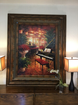 KRISTINA Piano Painting