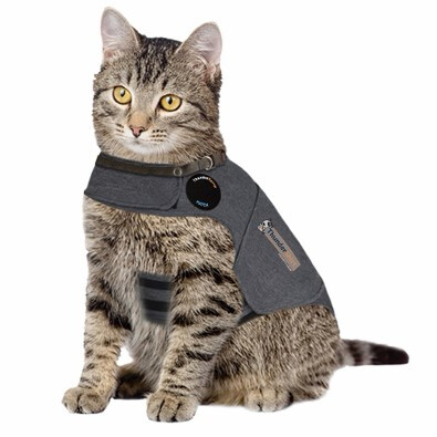 Thundershirt, Cat - Grey Med