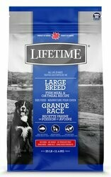 Lifetime All Life Stages Large Breed Fish & Oatmeal Recipe 11.4kg