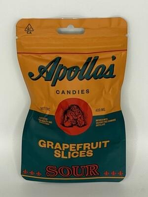 Apollo's Sour Grapefruit Slices