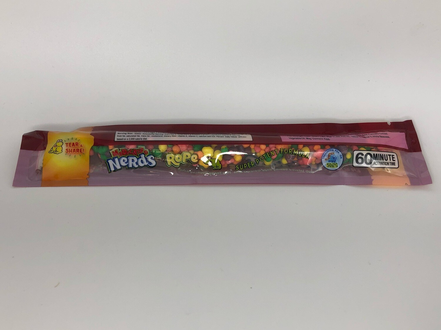 Nerds Rope - Seriously Strawberry (400MG)