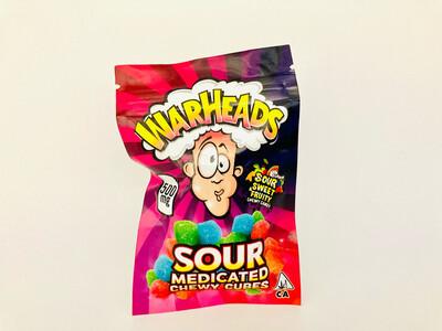 Medicated Warheads (500mg)