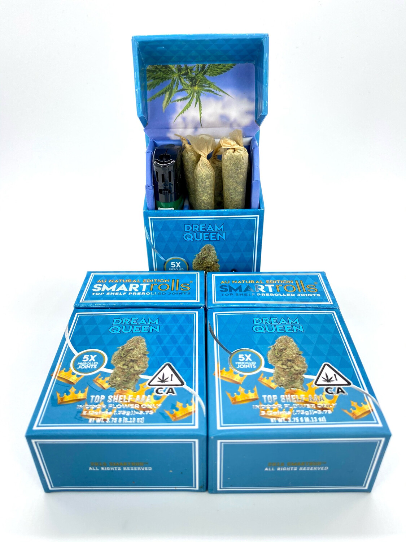 Smart Rolls - Premium Flower - Dream Queen (Hybrid) - 3.75g Total