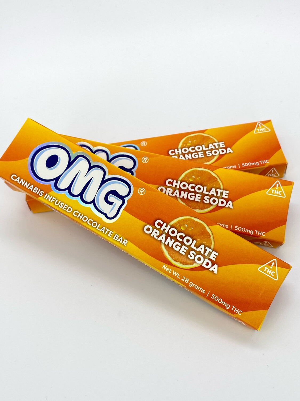 OMG Chocolate Orange Soda (500mg)