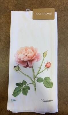 *Buck Rose Tea Towel